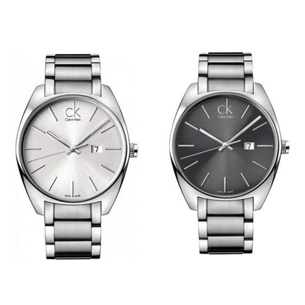 無料特典付き!【数量限定】カルバンクライン 腕時計 メンズ シルバー エクスチェンジ K2F21126 K2F21161 ビジネス 男性 ブランド 時計 誕生日 お祝い プレゼント ギフト お洒落