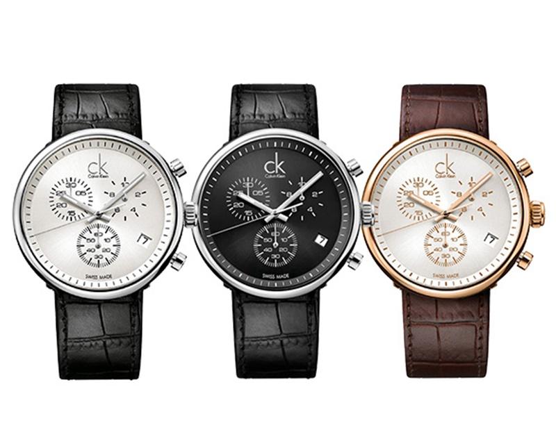 無料特典付き! カルバンクライン 時計 メンズ 腕時計 Substantial サブスタンシャル クロノグラフ レザーベルト 3color ビジネス 男性 ブランド 時計 誕生日 お祝い プレゼント ギフト お洒落