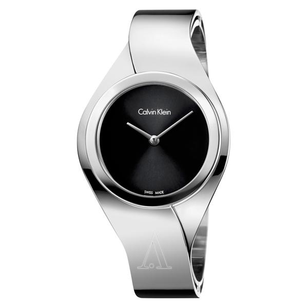 カルバンクライン 時計 レディース 腕時計 SENSES センス シルバー ステンレス バングル K5N2S121 ビジネス 女性 ブランド 時計 誕生日 お祝い プレゼント ギフト お洒落