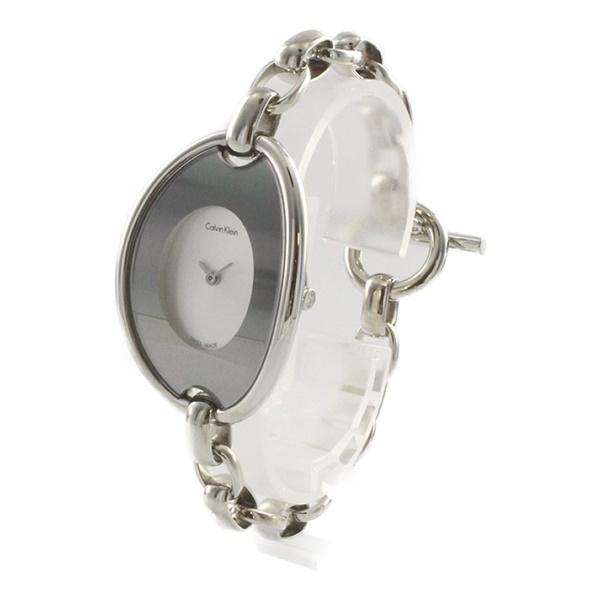 993e99b908b2 カルバンクライン 時計 レディース 腕時計 DISTINCTIVE デスティンクティブ シルバー ステンレス K3H2M126 ビジネス 女性  ブランド 時計 誕生日 お祝い プレゼント ...