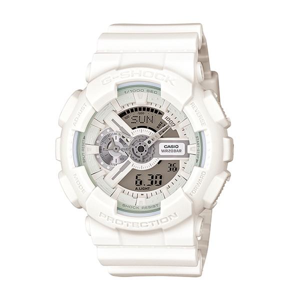 国内正規品 カシオ Gショック 時計 メンズ 腕時計 ビックケースシリーズ ホワイト GA-110BC-7AJF ビジネス 男性 ブランド 誕生日 お祝い プレゼント ギフト