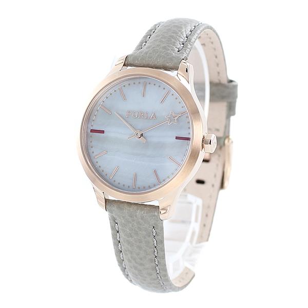 FURLA フルラ 時計 レディース 腕時計 女性 ローズゴールド シェル 革 グレー レザーウォッチ R4251119507 ビジネス 女性 ブランド 時計 誕生日 お祝い プレゼント ギフト