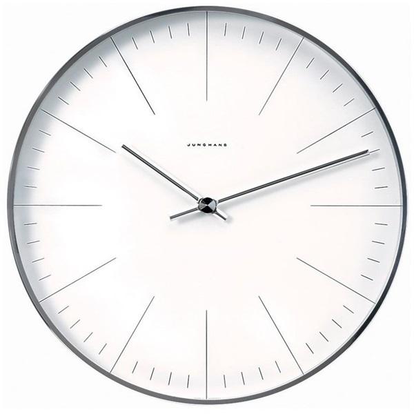 Junghans ユンハンス MAX BILL マックスビル Wall Clock 壁掛け時計 ホワイト 367/6049.00 ビジネス 男性 ブランド 時計 誕生日 お祝い クリスマスプレゼント ギフト お洒落