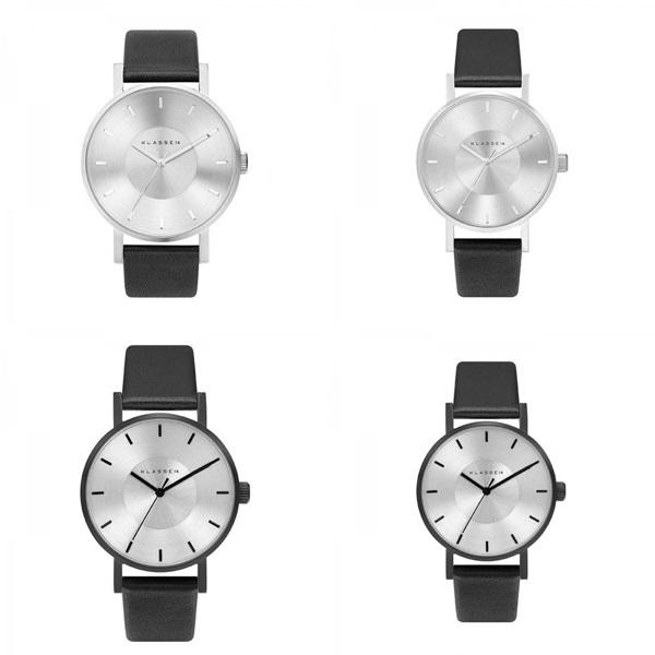 【キャッシュレス5%還元】KLASSE14 クラス14 時計 メンズ レディース 腕時計 Volare シルバー ブラック最高級レザー 42mm 36mm VO14SR001 VO14BK001【バイヤーおすすめ】 誕生日 お祝い プレゼント ギフト
