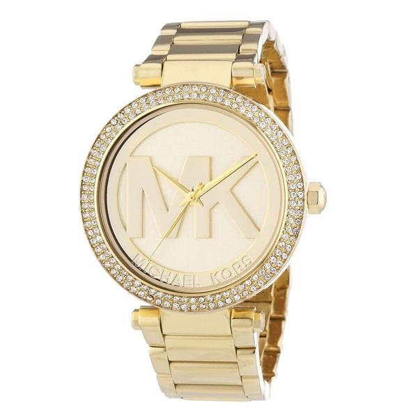 マイケルコース 時計 レディース パーカー アイコン クリスタル ゴールド MK5784 ビジネス 女性 ブランド 誕生日 お祝い プレゼント ギフト お洒落