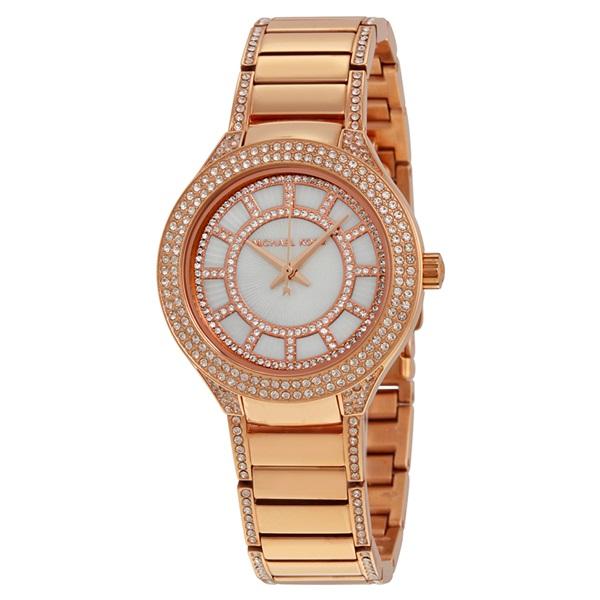 マイケルコース 時計 レディース 腕時計 Mini KERRY ピンクゴールド クリスタル MK3443 ビジネス 女性 ブランド 時計 誕生日 お祝い プレゼント ギフト
