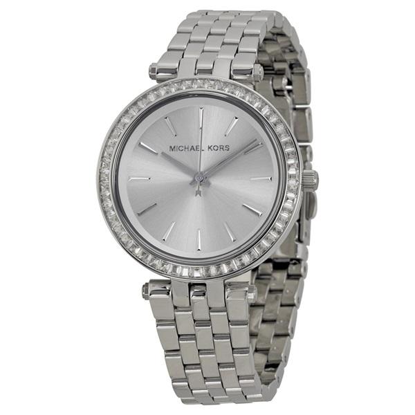 マイケルコース 時計 レディース 腕時計 MINI DARCI ALLシルバー シルバー文字盤 シルバーSS MK3364 ビジネス 女性 ブランド 時計 誕生日 お祝い プレゼント ギフト お洒落