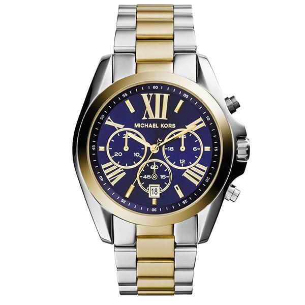 マイケルコース 時計 メンズ レディース ボーイズサイズ 腕時計 ブラッドショー クロノグラフ ネイビー文字盤 ゴールド シルバー ステンレス MK5976 ビジネス 男女 ユニセックス ブランド 誕生日 お祝い プレゼント ギフト