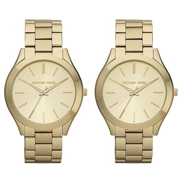 マイケルコース 時計 ペアウォッチ 同じサイズ 2本セット シェア 腕時計 RUNWAY ランウェイ ゴールド ステンレス MK3179MK3179 ブランド カップル 男女 ペアセット 誕生日 お祝い プレゼント ギフト