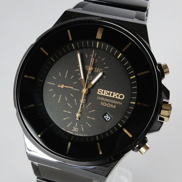 箱 BOX訳あり SEIKO セイコー 腕時計 メンズ クロノグラフ SNDD57 誕生日 お祝い プレゼント ギフト お洒落