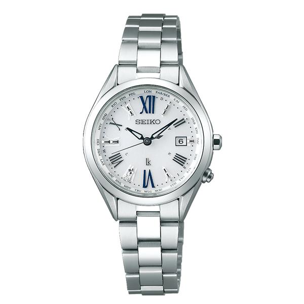 女性への贈り物にお勧め!セイコー 時計 レディース 腕時計 LUKIA ルキア 電波ソーラー シルバー チタン SSQV053 ビジネス 女性 ブランド 時計 【仕事用】 誕生日 お祝い プレゼント ギフト お洒落