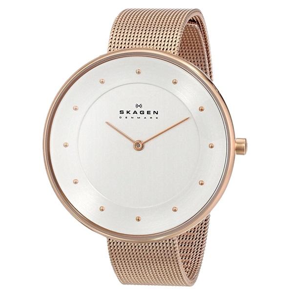 スカーゲン 時計 レディース 腕時計 ピンクゴールド ステンレス メッシュブレス SKW2142 ビジネス 女性 ブランド 誕生日 お祝い プレゼント ギフト お洒落