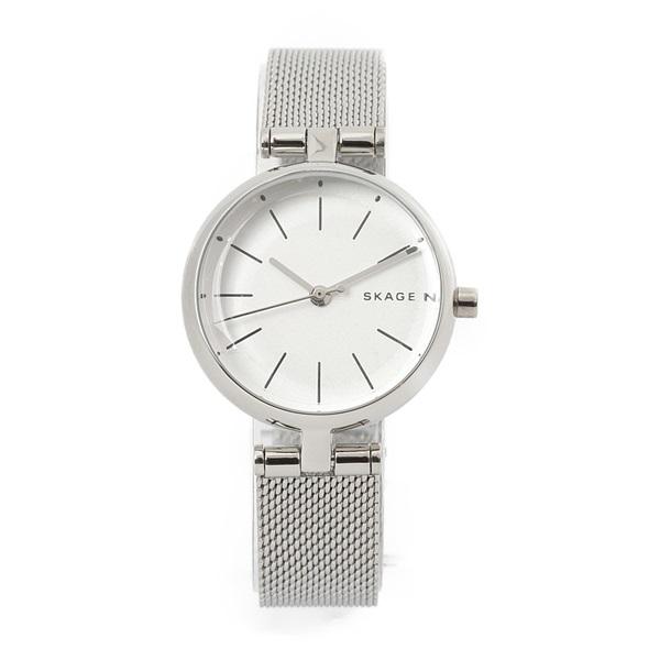 新作 スカーゲン 時計 レディース 腕時計 シグネチャー 26mm シルバー メッシュ ステンレス SKW2642 ビジネス 女性 ブランド 誕生日 お祝い プレゼント ギフト お洒落