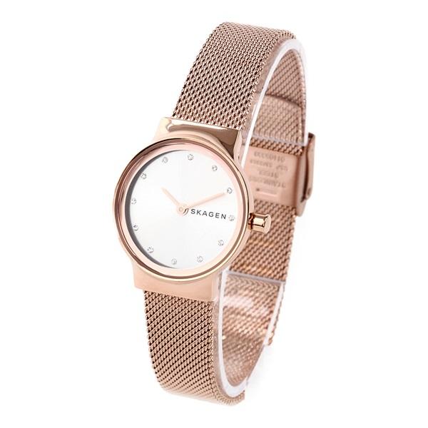スカーゲン 時計 レディース 腕時計 FREJA フレヤ ローズゴールド メッシュ ステンレス SKW2665 ビジネス 女性 ブランド 誕生日 お祝い プレゼント ギフト お洒落