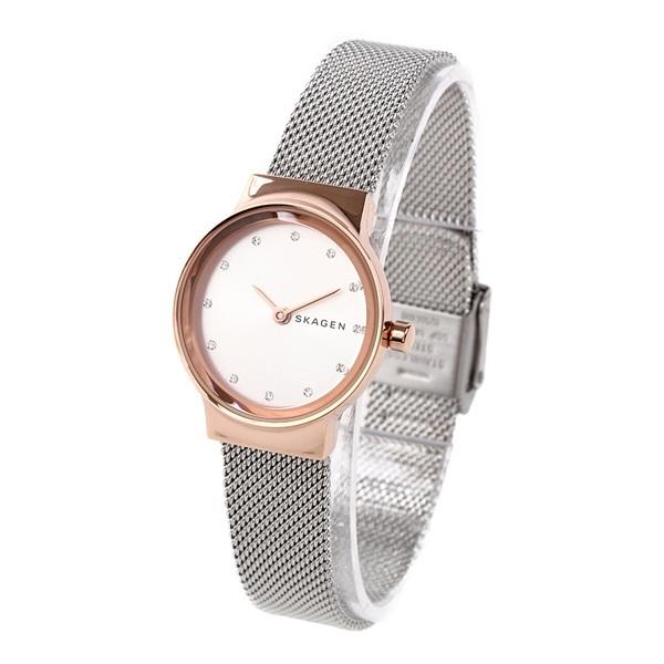 スカーゲン 時計 レディース 腕時計 FREJA フレヤ ローズゴールドケース シルバー メッシュ ステンレス SKW2716 ビジネス 女性 ブランド 誕生日 お祝い プレゼント ギフト お洒落