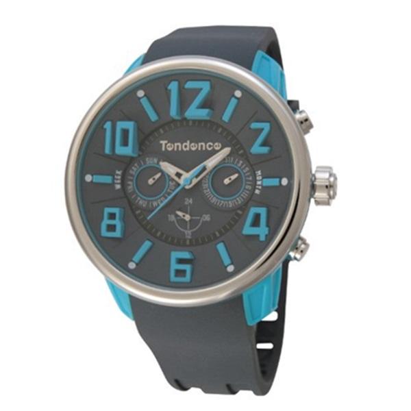1本限り テンデンス 時計 メンズ レディース ユニセックス 腕時計 ブルー ダークグレー TG765003 男性 ブランド 時計 誕生日 お祝い プレゼント ギフト お洒落