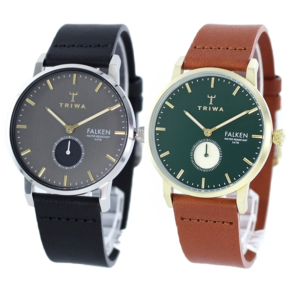 トリワ 腕時計 ペアウォッチ メンズ レディース レザー 革ベルト 同サイズ カップル お揃い FAST119-CL010112FAST112-CL010217 ビジネス ペアセット カップル 男女 ブランド 時計 誕生日 お祝い プレゼント ギフト