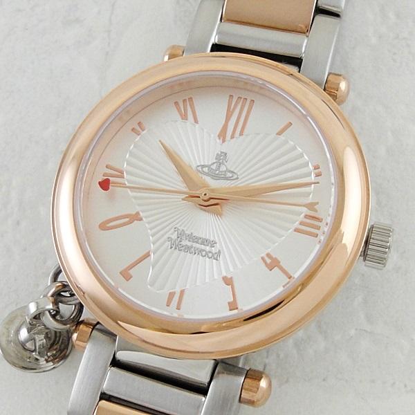 ヴィヴィアン ウエストウッド 時計 レディース 腕時計 ピンクゴールド シルバー ステンレス VV006RSSL ビジネス 女性 ブランド 時計 誕生日 お祝い プレゼント ギフト お洒落