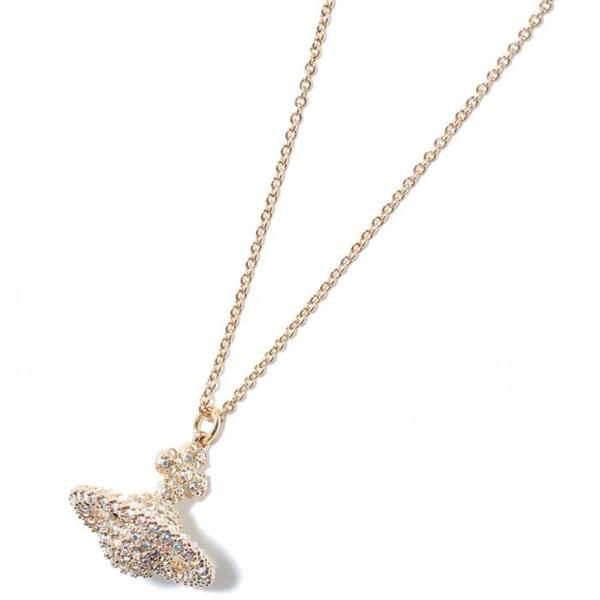 ヴィヴィアン ウエストウッド ジュエリー ファッション アクセサリー ペンダント ネックレス GRACE SMALL PENDANT カラフルストーン ゴールド 752200B/6 ビジネス ブランド 誕生日 お祝い プレゼント ギフト お洒落