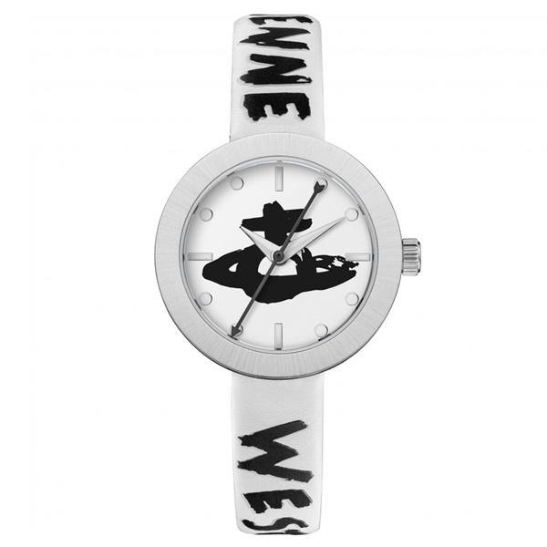 腕時計 プレゼント 20代 30代 40代 50代 60代 70代 バースデー お祝い 母の日 就活 研修 景品 ヴィヴィアン かわいい 誕生日 ウエストウッド 時計 ロゴベルト 白 ギフト 革 チャーム付き ブラックフライデー オーブ VV221SLWH 卸直営 ホワイトレザー 日本全国 送料無料 レディース
