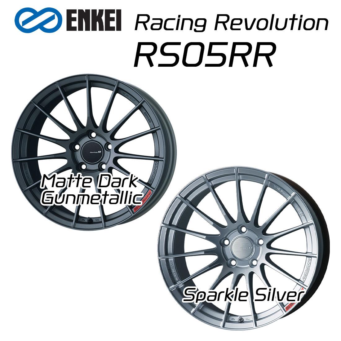 エンケイ ホイール レーシングレボリューション RS05RR 20インチ 9.5J ENKEI Racing Revolution マット ダーク ガンメタリック 車 かっこいい