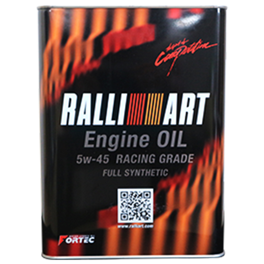 FORTEC(フォルテック)【SAE/5w-45】RALLY ART Engine Oil (ラリーアートエンジンオイル)RACING GRADE(完全合成油)20L