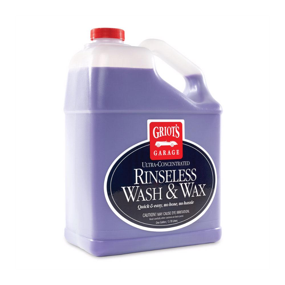 リンスレス ウォッシュ&ワックス 1ガロン 洗車用品 泡洗車 すすぎ不要 ふき取りクリーナーワックス GRIOT'S GARAGE グリオズ ガレージ