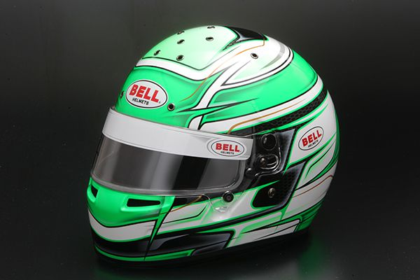 【KC7 CMR VENOM GREEN/ORANGE/YELLOW】 BELL Racing ヘルメット KART Series KC7-CMR VENOM グリーン オレンジ イエロー カートシリーズ