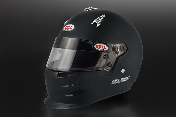 【GP3 SPORT Matt Black】 BELL Racing ヘルメット SPORT Series GP3スポーツ マットブラック エディション スポーツシリーズ フロントチンスポイラー エアスクープ GH 160 / 161 / 162 / 163 ベル