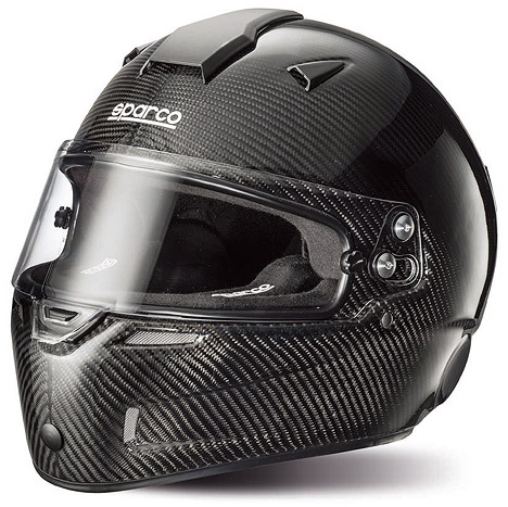Sparco スパルコ ヘルメット AIR KF-7W カーボン カート用 スネルKA2015公認