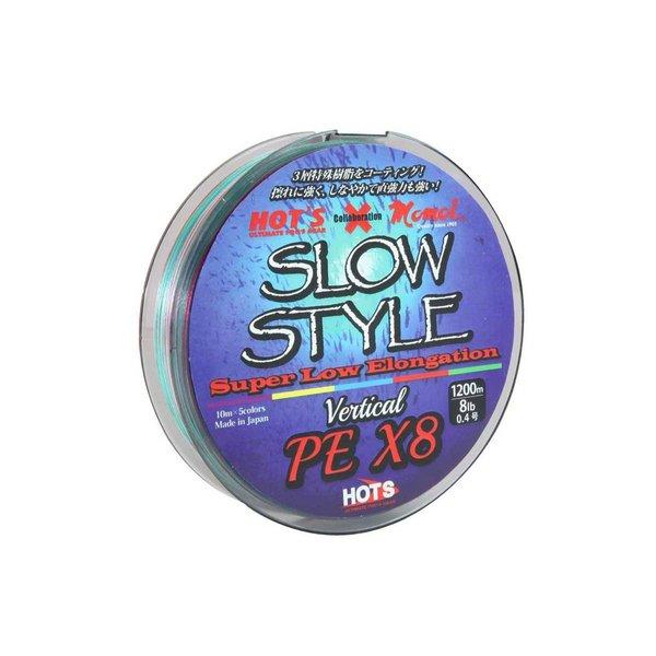 HOTS ホッツ / SLOW STYLE SSV-X8 PE 1号 1200m