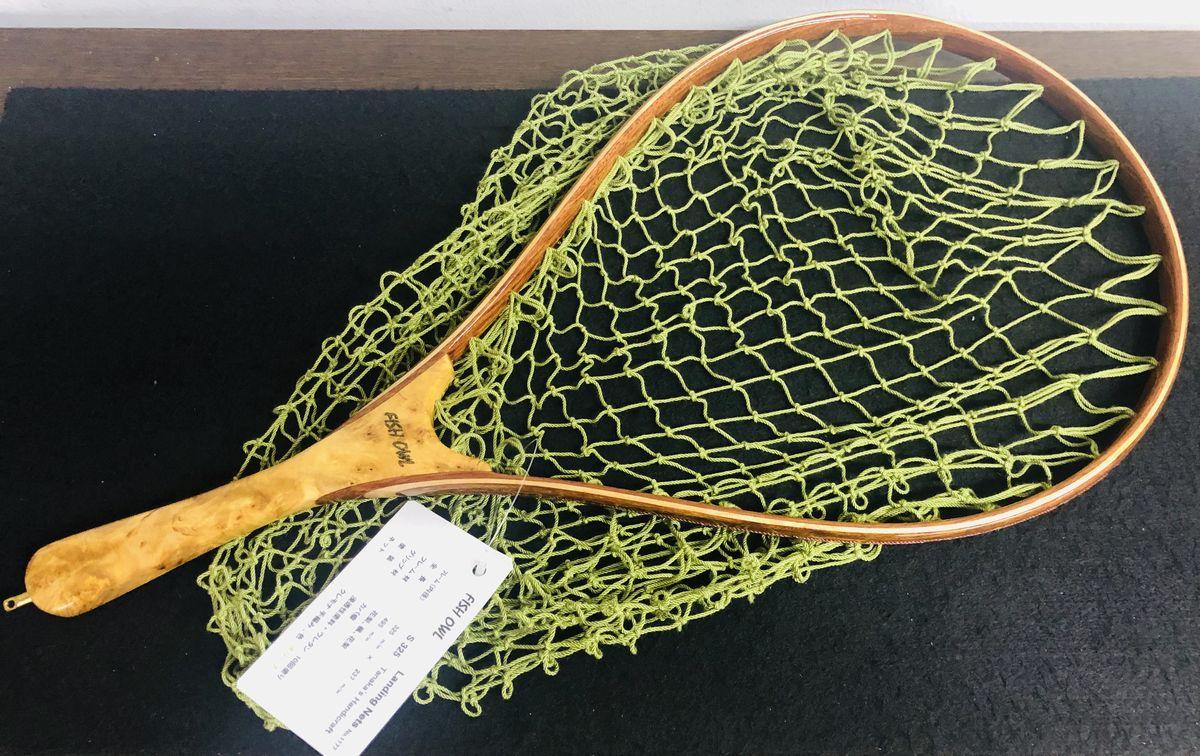 フィッシュオウル FISH-OWL / ハンドメイドネット S325-1177