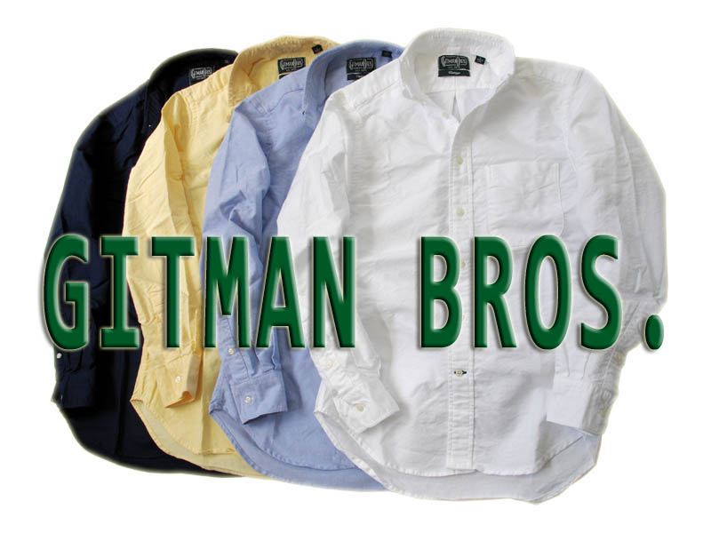 【送料無料】ギットマン・ブラザース オックスフォードBDシャツ ギットマン ボタンダウンシャツ メンズボタンダウン オックスフォードシャツ メンズ アメカジ ボタンダウン おしゃれ 綿100% コットン100%
