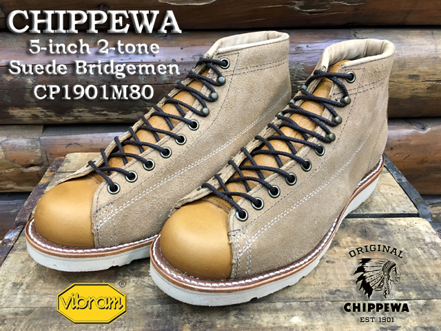 CHIPPEWA チペワ5-inch 2-Tone Suede BridgemenCP1901M801901 Collection
