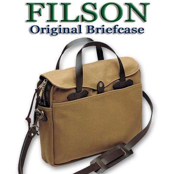 【送料無料】FILSON フィルソン バッグ オリジナル ブリーフケース TAN ブライドルレザー フィルソンバッグ