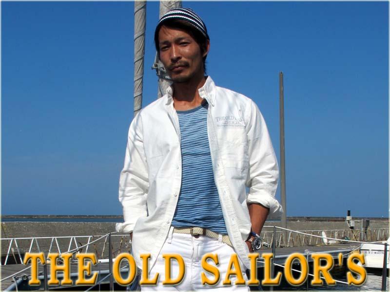 THE OLD SAILOR'SオールドセイラーズオックスフォードBDシャツ