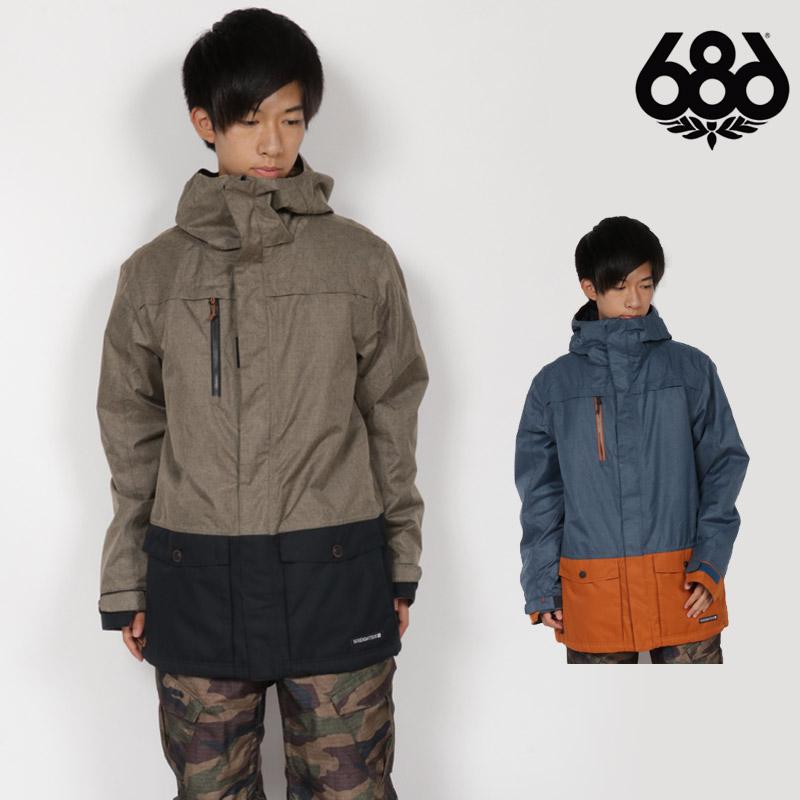 686 SIX EIGHT SIX ウェア メンズ ジャケット JAPAN SMU ANTHEM SHELL JACKET JACKET スノーボードウェア スノボ L8W910