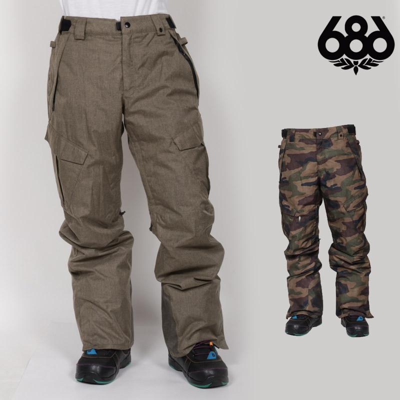 686 SIX EIGHT SIX ウェア メンズ パンツ INFINITY INSULATED CARGO PANT スノーボードウェア スノボ L8W209