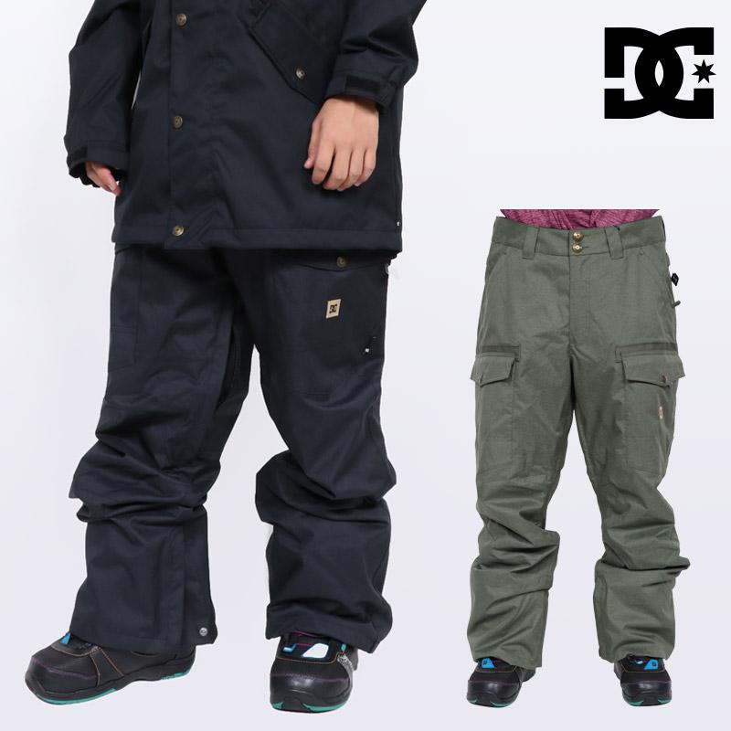 18-19 新作 DC ディーシー ウェア パンツ メンズ CODE PANTS スノーボードウェア EDYTP03035