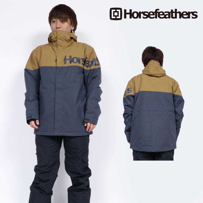 18-19 新作 HORSEFEATHERS ホースフェザーズ ウェア ジャケット メンズ GANNET JACKET スノーボードウェア スノボ OM231D