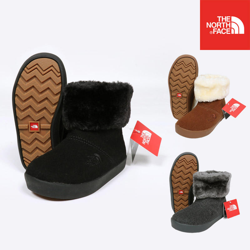THE NORTH FACE ノースフェイス ブーツ キッズ K WINTER WOOL CAMP BOOTIE 靴 NFJ51852 セール SALE