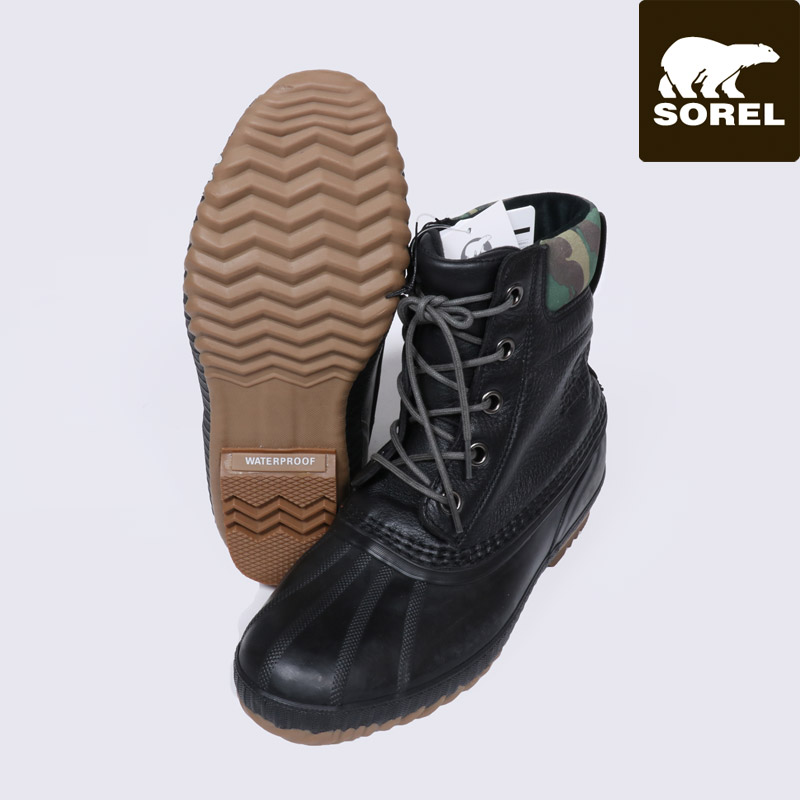 50%OFF SOREL ソレル スノーブーツ メンズ シャイアン II プレミアム CHEYANNE II PREMIUM ブーツ 靴 NM2339 セール SALE