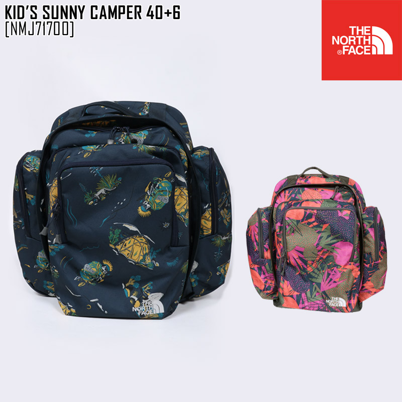 THE NORTH FACE ノースフェイス キッズ リュック K SUNNY CAMPER 40+6 バッグ カバン NMJ71700