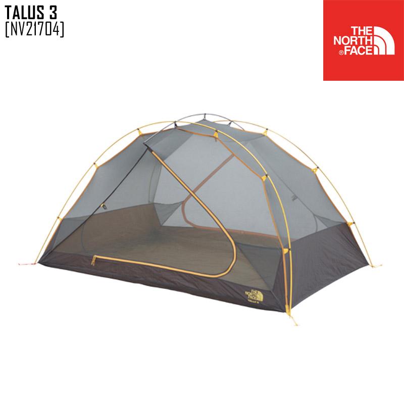 ノースフェイス テント キャンプ用品 アウトドアブランド TALUS 3 NV21704