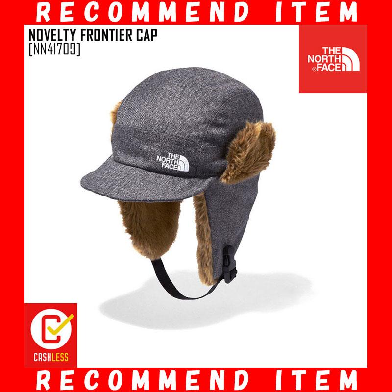 ノースフェイス キャップ NOVELTY FRONTIER CAP 帽子 耳あて付き NN41709 メンズ レディース