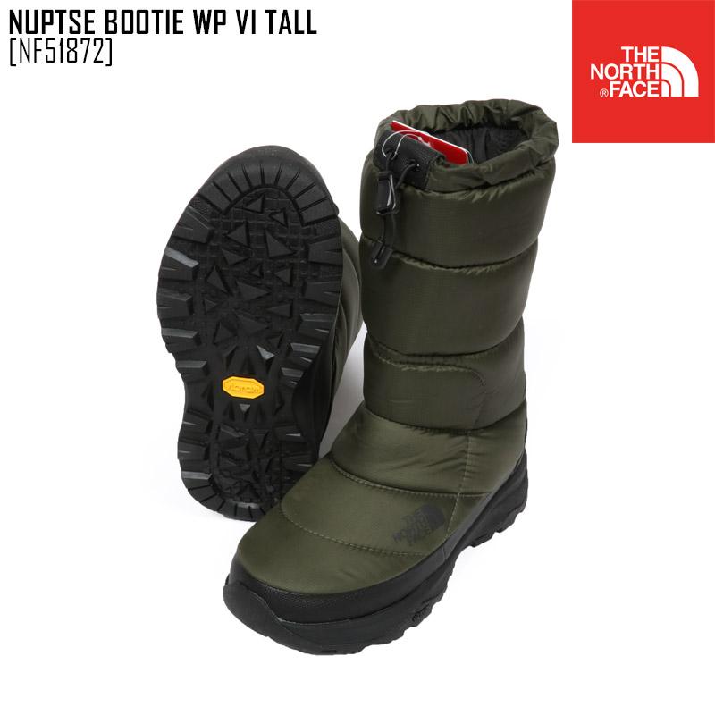 SALE セール ノースフェイス ブーツ スノーブーツ メンズ レディース ヌプシブーティー NUPTSE BOOTIE WP VI TALL スノーシューズ アウトドアブランド NF51872