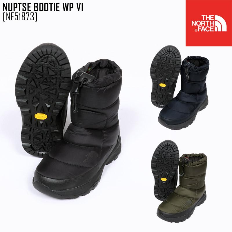 ノースフェイス ブーツ スノーブーツ メンズ レディース ヌプシブーティー NUPTSE BOOTIE WP VI NF51873