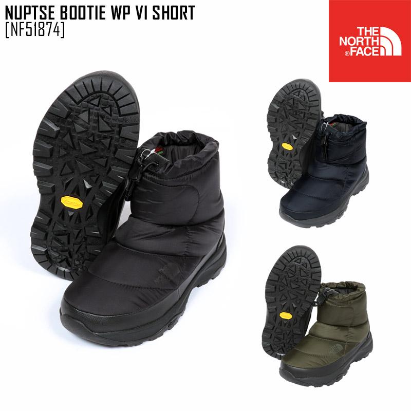 ノースフェイス ブーツ スノーブーツ メンズ レディース ヌプシブーティー NUPTSE BOOTIE WP VI SHORT NF51874