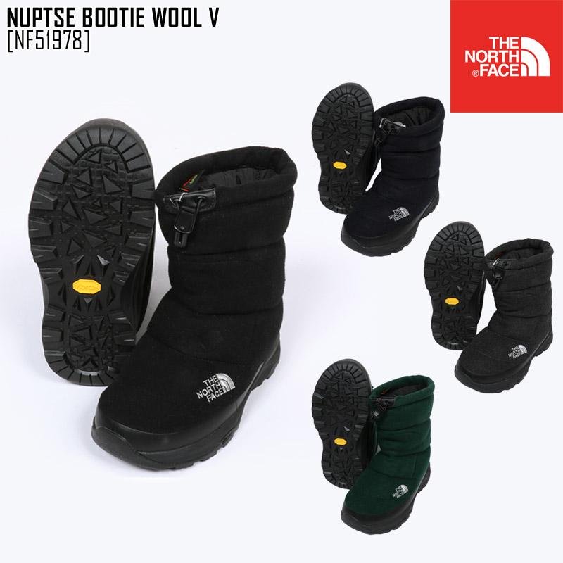 ノースフェイス ブーツ スノーブーツ メンズ レディース ヌプシブーティー NUPTSE BOOTIE WOOL V スノーシューズ アウトドアブランド NF51978