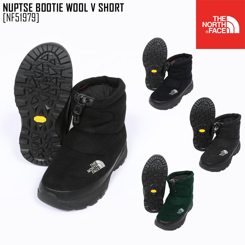 ノースフェイス ブーツ スノーブーツ メンズ レディース ヌプシブーティー NUPTSE BOOTIE WOOL V SHORT NF51979